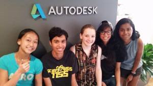 the team at autodesk